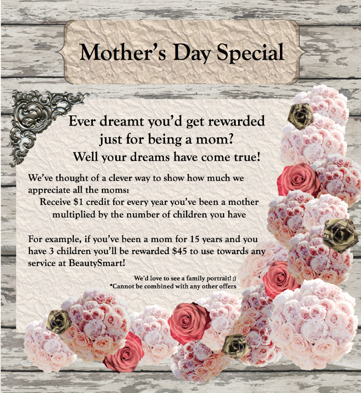 Special Sale - Mother's Day Sale