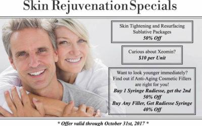Skin Rejuvenation Specials