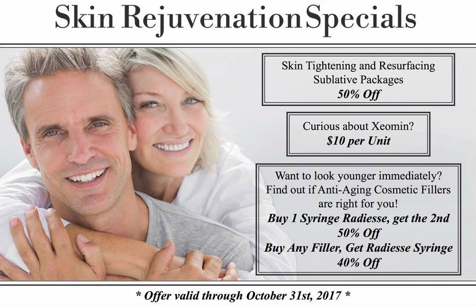 Skin Rejuvenation Specials
