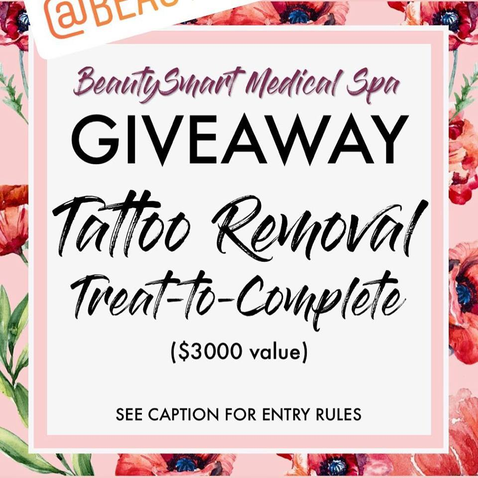 Giveaway - Tattoo Removal